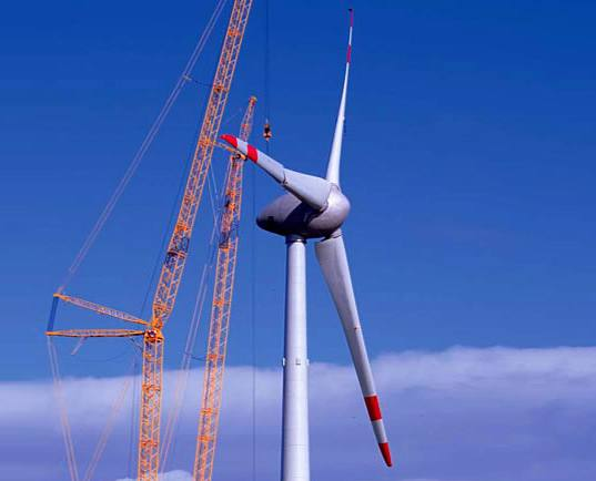 Норвегия строит самую большую ветряную мельницу